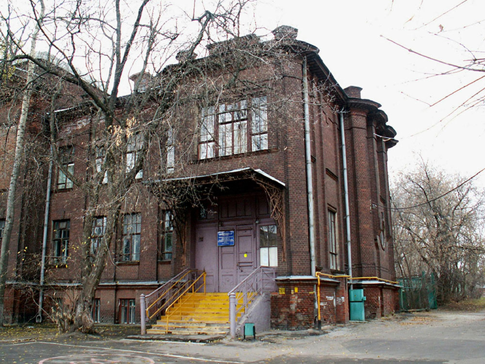 Больница при Преображенском старообрядческом монастыре