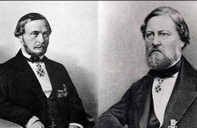 Братья Ефим и Иван Гучковы