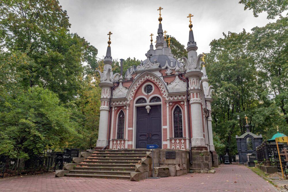 Никольская часовня на Преображенском кладбище (лето, 2019 г.)