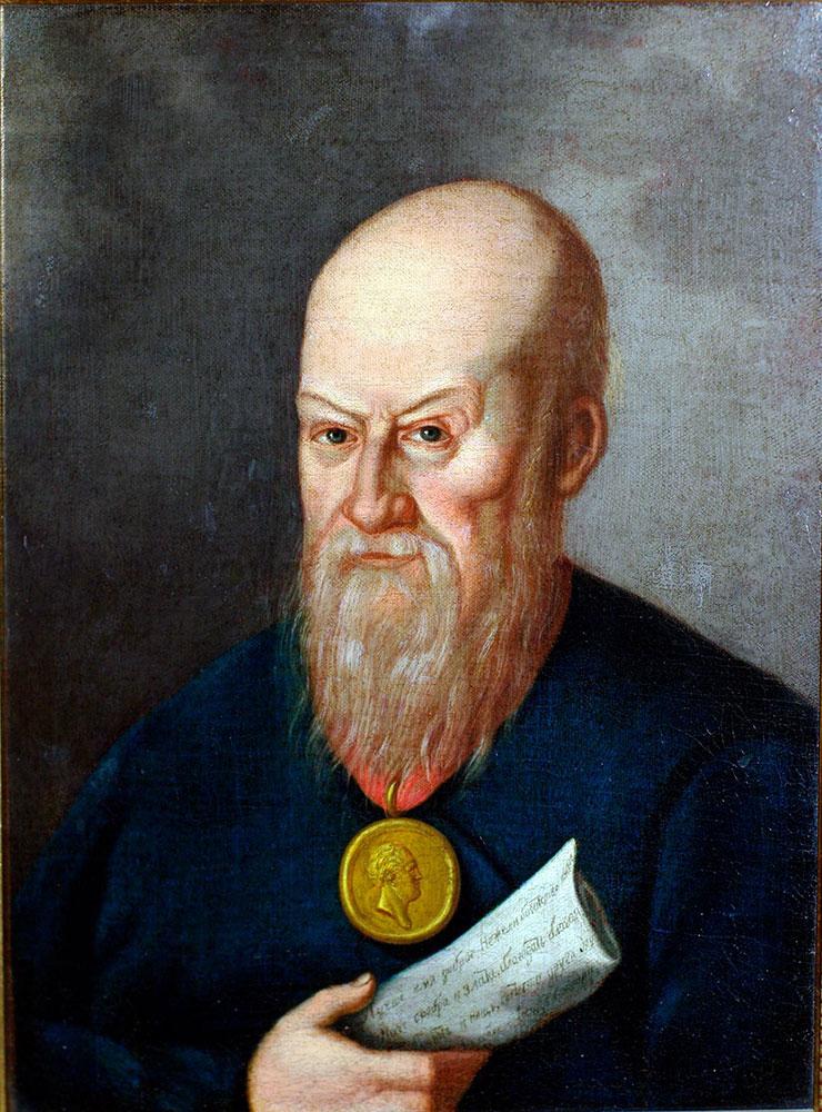 Портрет И.А. Ковылина. 1810–1840-е гг. Холст, масло.