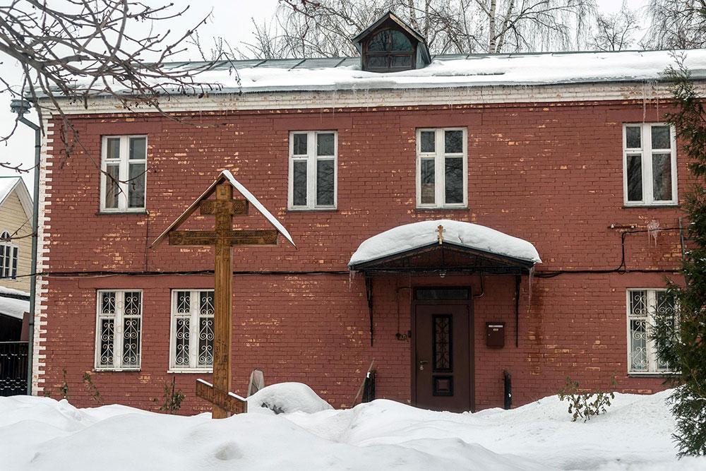 Здание общины староверов