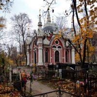 Никольская часовня на кладбище