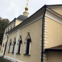 Крестовоздвиженская моленная женского двора Преображенского монастыря