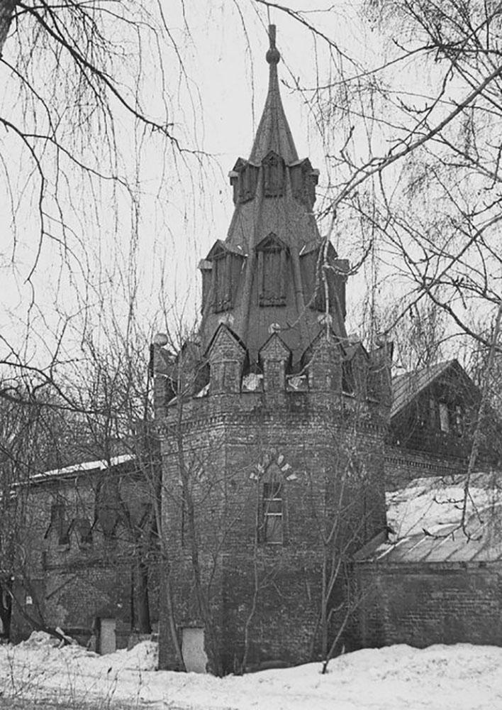 Башня монастырской стены (северо-западная)
