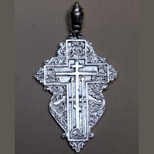 Крест нательный большой (серебро) женский