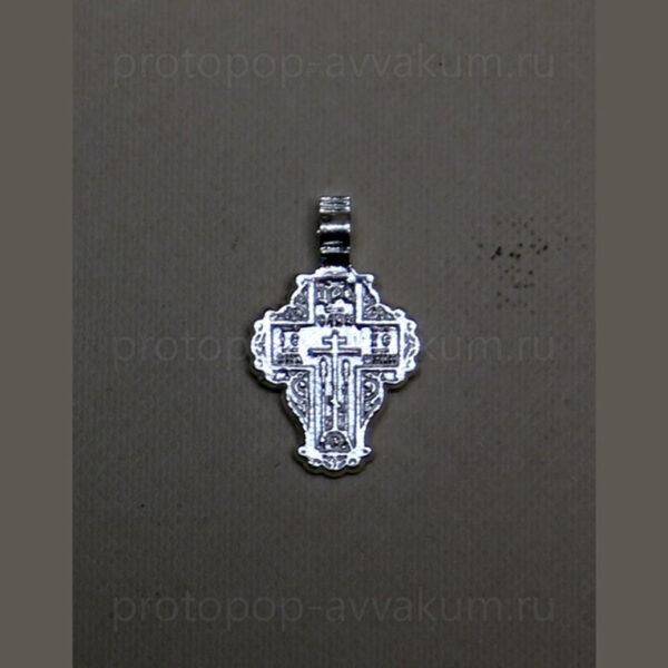 Крест нательный малый (серебро) женский