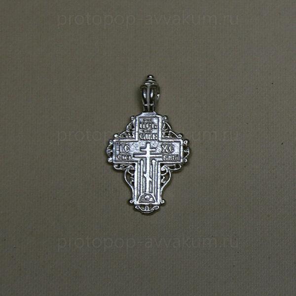 Крест нательный (серебро) женский