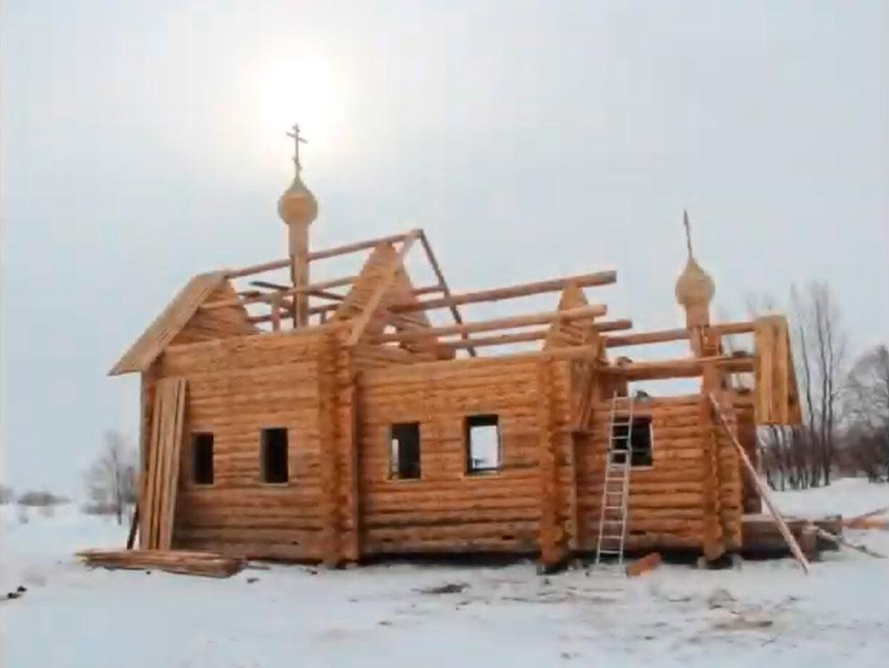 Строительство часовни в Пустозерске. Хроника событий